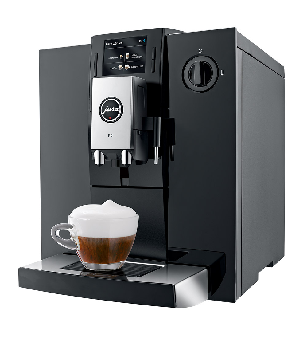 jura impressa f9 bean to cup super automatic coffee machine ebay. Black Bedroom Furniture Sets. Home Design Ideas