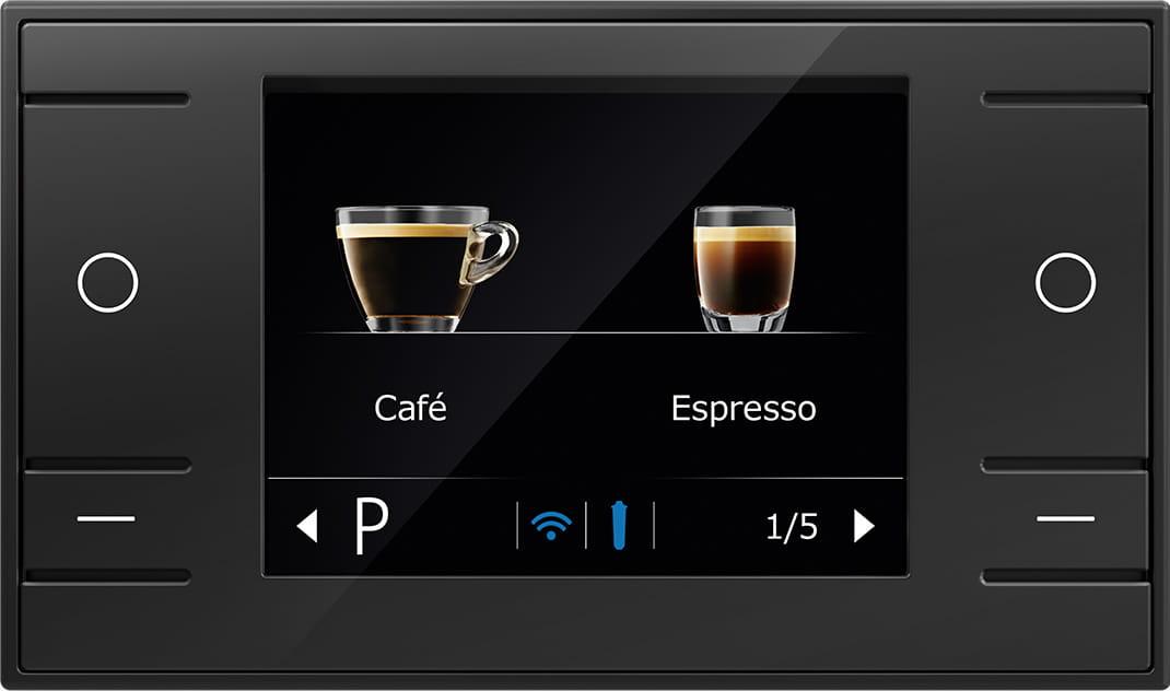 """Jura Ena 8 - Đơn giản sử dụng với màn hình nhắc nhở màu 2.8"""""""