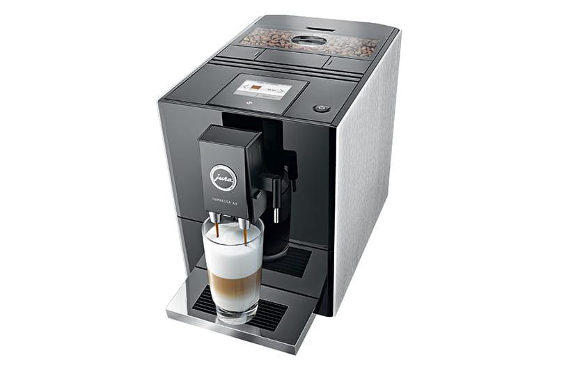 black and white coffee machine instructions